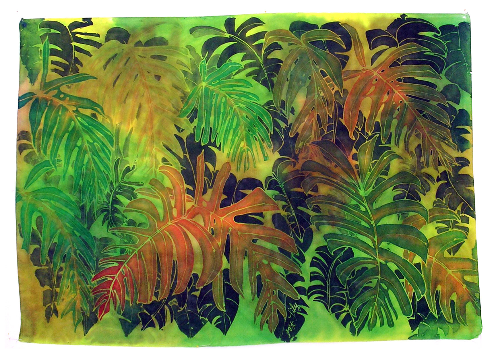 Silk Paintings By Joy Lily